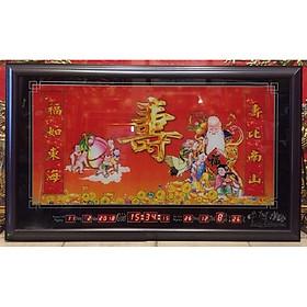 Tranh lịch vạn niên , Ông Thọ - MS999