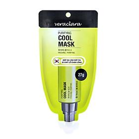 Mặt Nạ Làm Mát Da, Se Khít Chân Lông Và Giảm Thiểu Mụn ( Veraclara Purifying Cool Mask) 27g