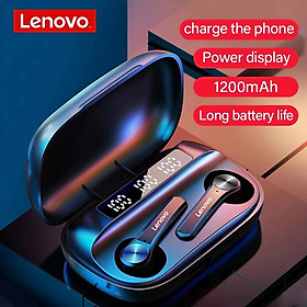 Lenovo Wireless Earphones Qt81 Bluetooth 5.1 Waterproof Headphones Touch Button Hifi Stereo Earbuds