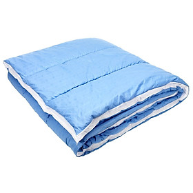 Ruột chăn JYSK Meldal polyester xanh da trời 135x200cm,500g