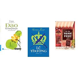 """Combo 3 cuốn sách: OSHO - Đạo """"con đường không lối"""" + Lẽ thường + Cửa tiệm hạnh phúc"""