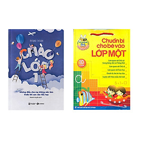 Combo sách chào lớp 1 và chuẩn bị cho bé vào lớp 1 tặng 1 flashcard trong hình