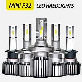 F32 Bright Car Led Light H1 H7 Bulb Headlights for Automobiles s2c