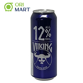 Bia Viiking Strong Beer 12%