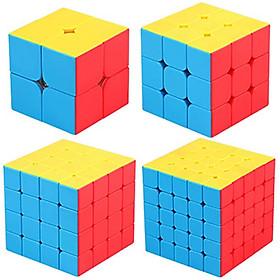Bộ 4 sản phẩm rubik : 2x2, 3x3, 4x4, 5x5