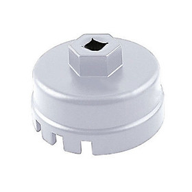 Auto Wrench Professional 64mm White Cap Oil Filter for Tundra