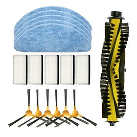 Side Brushes Filter Roller Brush Kit Replacement fit   X500 Durable