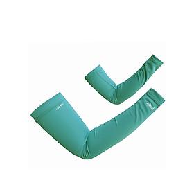 Găng tay ống chống nắng UPF50+ xanh nhạt Zigzag GLV00204