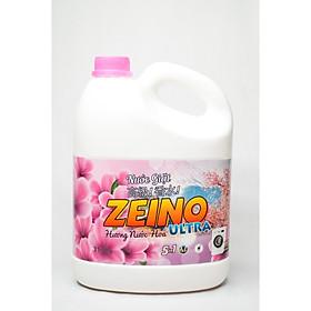 Nước Giặt ZEINO -  Hồng 3.5kg Hương Nước Hoa ULTRA