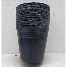 1Kg Chậu nhựa mềm ươm cây 13x12 - bịch, túi bầu ươm cây 13x12; 1kg = khoảng 330 - 350 chiếc