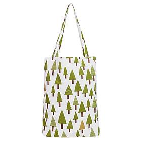 Túi Tote Nữ Cây Thông XinhStore TVBM_08 (41 x 30 cm) - Trắng
