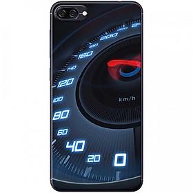 Ốp lưng dành cho Asus Zenfone 4 Max ZC520KL mẫu Đồng hồ tốc độ xanh
