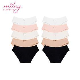 Bộ 10 Quần Lót Nữ Modal Miley Lingerie - Giao Màu Ngẫu Nhiên