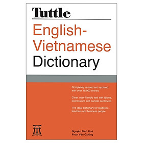 CT Tuttle English-Vietnamese Dict