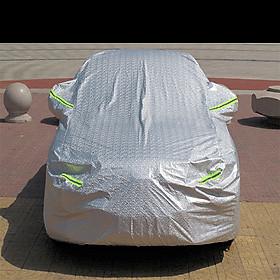 Bạt phủ ô tô chống nóng tráng bạc