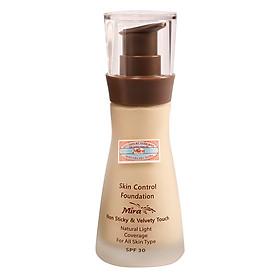 Kem Nền Trang Điểm Mira Skin Control Foundation (30ml) B537_No.21 - Da Trắng