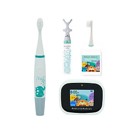 Bộ bàn chải tập đánh răng Premium cho bé từ 3 tuổi Marcus & Marcus - Ollie