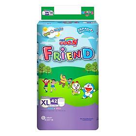 Tã Quần Goo.N Friend Gói Cực Đại XL42 (42 Miếng) + Tặng Kèm 5 Miếng