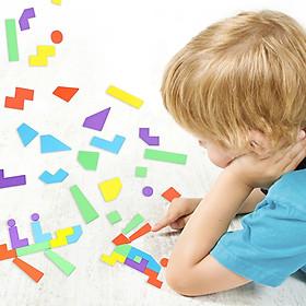 Trò Chơi Xếp Hình Giải Đố Trí Tuệ Gotoamei Cho Trẻ Em 2-4 Tuổi Bằng Gỗ Giáo Dục Trẻ Thông Minh