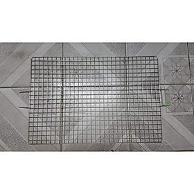 Vỉ Nướng inox - Inox 201 - 30cmx50cm