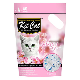 Cát Thủy Tinh Kit Cat - Hoa Anh Đào (5L)