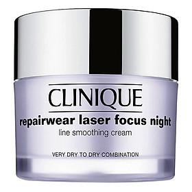 Kem chống lão hóa ban đêm Clinique Repairwear Laser Focus Night 50ml