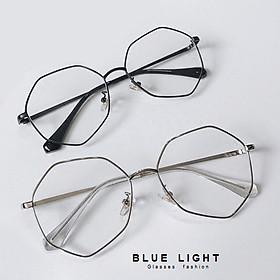 Kính Giả Cận, Gọng Kính Cận Nam Nữ Mắt Đa Giác Không Độ Hàn Quốc - BLUE LIGHT SHOP