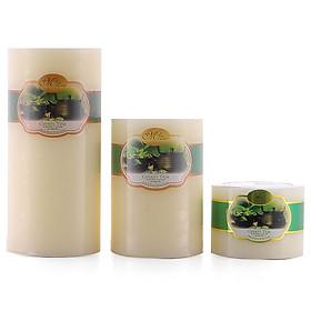 Bộ nến thơm Hạnh Phúc 7 - Bộ 3 nến thơm D7H5, D7H10, D7H15 Miss Candle (Chọn mùi hương)