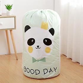 Túi đựng chăn màn quần áo, Chất liệu nhựa dày chống thấm nước đựng chăn, drap, màn, mền, quần áo, đồ chơi, gấp gọn gàng, cất giữ, đóng gói dọn nhà tiết kiệm không gian dễ dàng tháo lắp