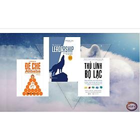 BỘ SÁCH DÀNH CHO NGƯỜI THỦ LĨNH 3 cuốn- (The Book Of Leadership - Dẫn Dắt Bản Thân, Đội Nhóm Và Tổ Chức Vươn Xa(Tặng E-Book Bộ 10 Cuốn Sách Hay Về Kỹ Năng, Đời Sống, Kinh Tế Và Gia Đình - Tại App MCbooks)+Thủ Lĩnh Bộ Lạc – Thuật Lãnh Đạo Xuất Chúng Để Đưa Tổ Chức Vươn Tới Một Tầm Cao Mới+Đế Chế Alibaba