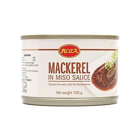 Cá Thu Sốt Tương Miso Mackerel Roza 160g