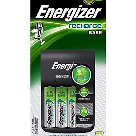 Bộ sạc Energizer Charger kèm 4 pin Ener AA 2000mAh, tự ngắt sạc (CHVCM4)