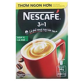 Hộp 20 Gói Nescafé 3in1 Đậm Vị Cà Phê (17g)