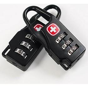 Combo 2 ổ khóa vali , balo chữ thập