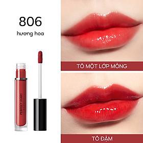 Son Môi Perfect Diary Glossy Glasting Stain Liquid Long-lasting Makeup 8 Shades 2.3g