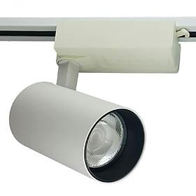 Đèn LED gắn ray COB KOSOOM 10W sơn trắng R-KS-10A-T