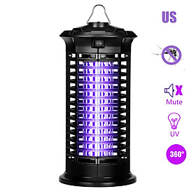 Electric Bug Zapper Mosquito Killer Bug Fly Insect Attractant Trap with UV Light Pests Catcher Lamp Portable Standing or