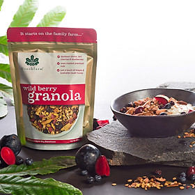 Ngũ cốc Brookfarm Wild berry Granola (C)- Gói 300g