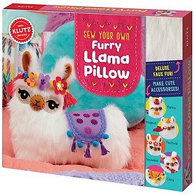 KLUTZ: Sew Your Own Furry Llama Pillow