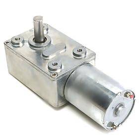 Turbo Có thể đảo ngược mô-men xoắn cao Động cơ giảm tốc Động cơ DC JGY370 12V 10rpm