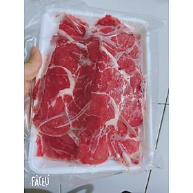 Thịt cổ bò Mỹ BBQ - 500Gr