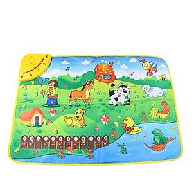 Kids Toys Music Carpet Baby Early Education Animal Music Carpet Kids Music Crawl Mat Toys For Children Infant Rug Gifts For Kids