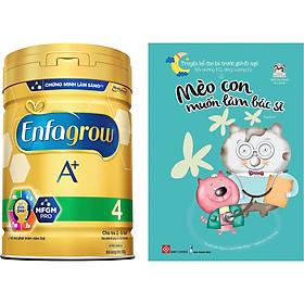 Combo 1 Lon Sữa Bột Enfagrow A+ 4 830g Tặng Truyện Kể Bé Trước Giờ Đi Ngủ