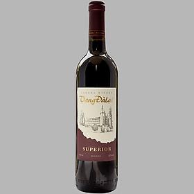 Rượu Vang Đỏ Đà Lạt Ladofoods Superior Red Wine 750ml 12% - Không kèm hộp