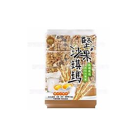 Bánh shachima đường nâu kết hợp nhiều loại hạt 320g