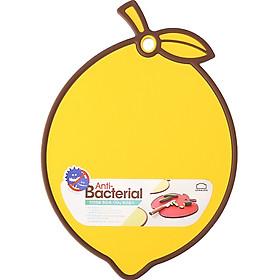 Thớt Nhựa Kháng Khuẩn Lock&Lock Anti-Bacterial - Hàng Chính Hãng, Bề Mặt Chống Trượt, Viền Silicon, Hình Dáng Ngộ Nghĩnh