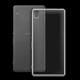 Ốp lưng silicon dẻo trong suốt loại A cao cấp cho Sony Xperia XA Ultra F3216