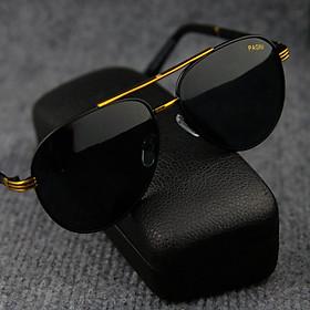 Kính mát nam thời trang chống nắng PAGINI 6533 - Tặng hộp và khăn – Thiết kế trẻ trung – Kính mát nam chống nắng, chống bụi, chống Tia UV