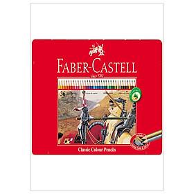 Faber-Castell-Chì Màu Rl Classic-36 Màu Dài (Hộp Thiếc)