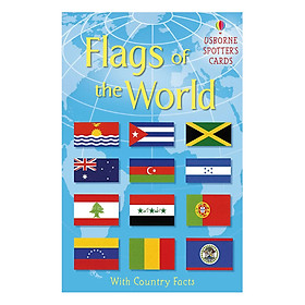 Usborne Spotter's Cards Flags of the World